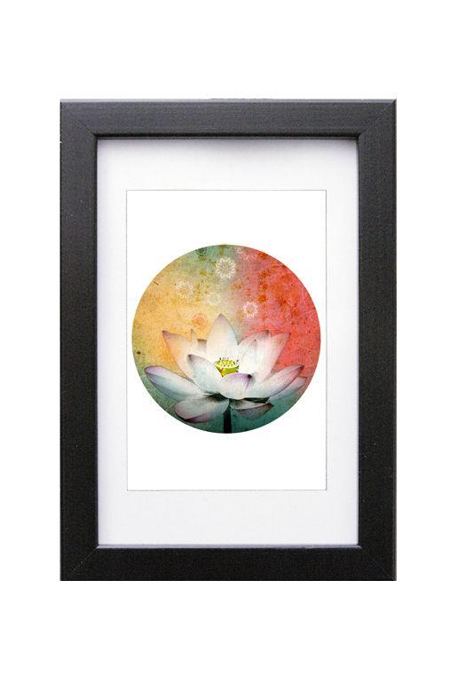 Art print – Lotusblomma liten | Foxboheme