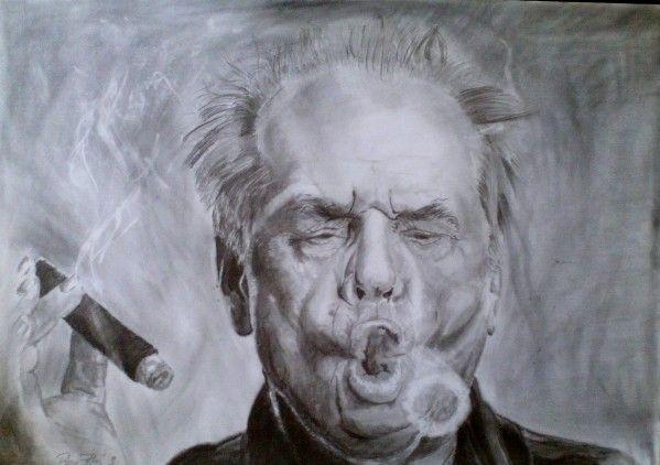 Jack Nicholson-drawing