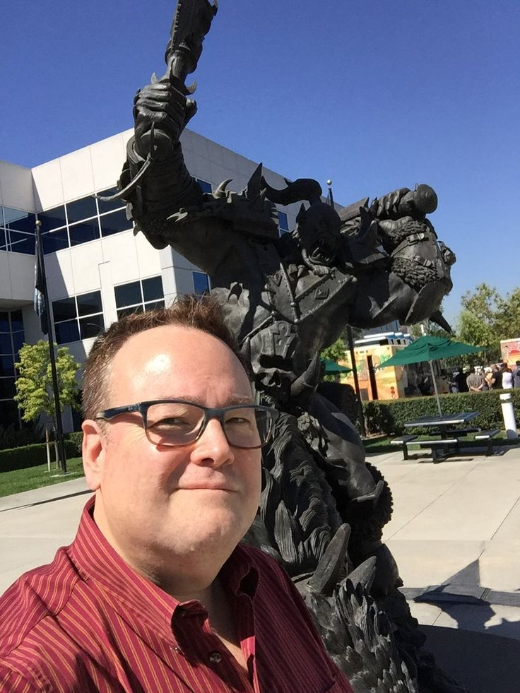 Bill Roper (also former Blizzard North) was ALSO at Blizz HQ with David Brevik recently... #Diablo #blizzard #Diablo3 #D3 #Dios #reaperofsouls #game #players