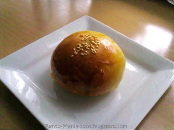 Bento-Mania.....verrückt nach der japanischen Lunch Box: Rezept: Anpan (jap. süßes Brötchen mit Rote-Bohnen-Paste)