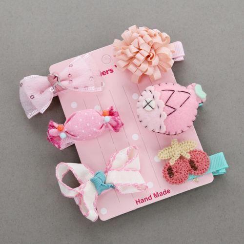 Barrette Hairpin New Children Kids set 1 Girl Hair Children Headwear Clip Baby