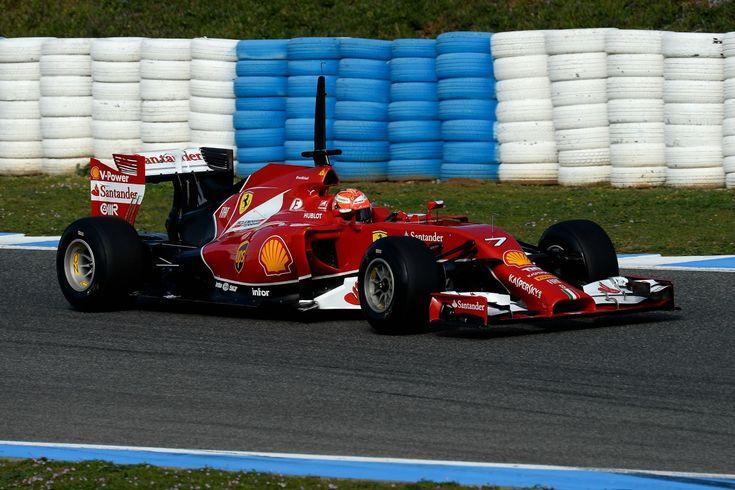 Ferrari F14 T - Jerez day 1 testing gallery