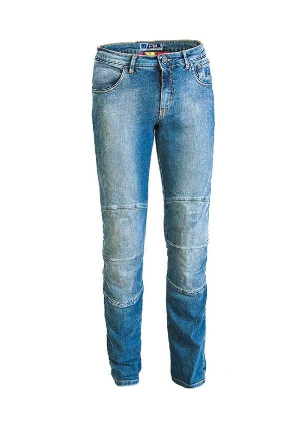 Pantalón Jeans Mujer PMJ Carolina Los pantalones vaqueros perfectos para todas las chicas que no quiero rendir su feminidad. Ajuste cómodo. Algodón elástico de alto espesor de 12,5 onzas. Refuerzos textiles 100% TWARON® balísticos,  forradas interiormente.