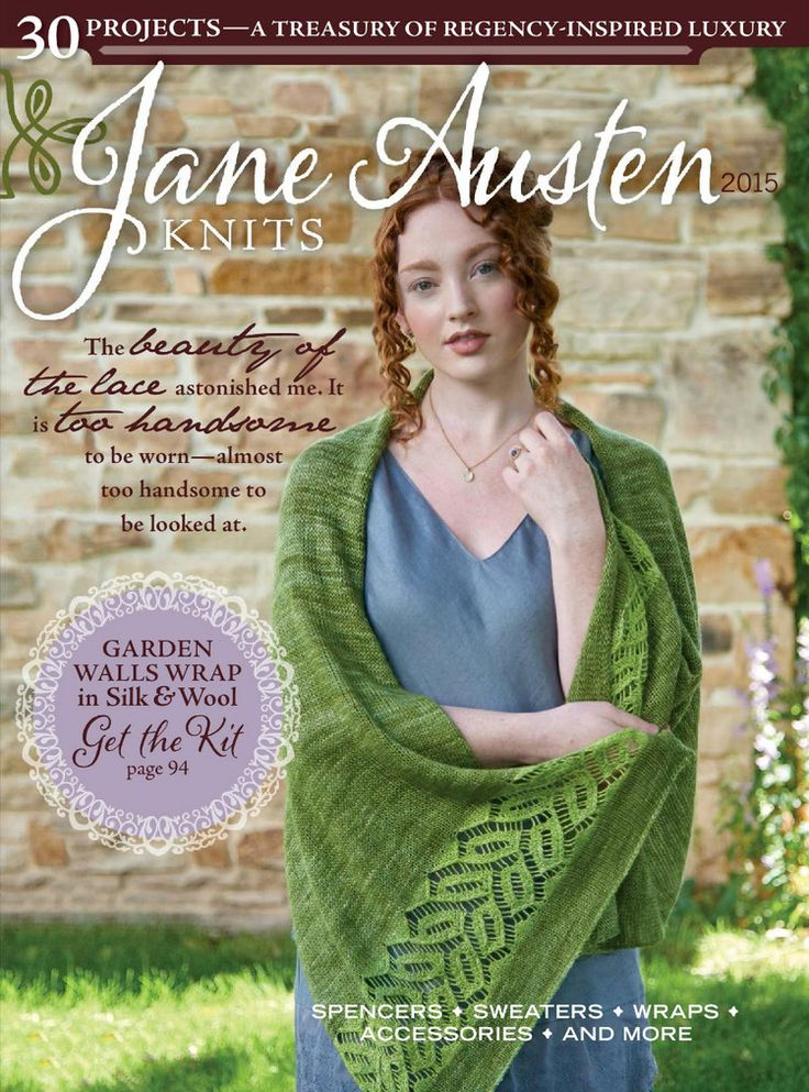 Interweaves Jane Austen Knits Special Issue2015 - 轻描淡写 - 轻描淡写