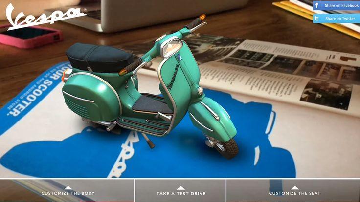 Vespa Augmented Reality on Vimeo