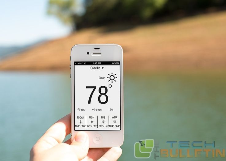 Best latest Weather Apps for new iPhone 6 and 6 Plus