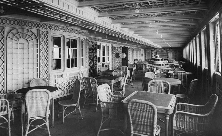 Caf 233 Parisien In First Class On The Titanic Fascinating