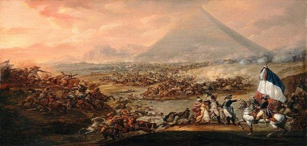 بحث عن الحملة الفرنسية على مصر جاهز للطباعة French Army Painting Ancient Egypt