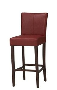 Bonded Leather 24 in. Counter Stool