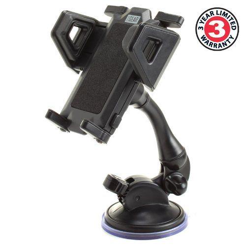 Soporte Universal Móvil Ventosa para Coche. – Dispositivo seguro y flexible. Cuello ajustable de 180 grados y cabeza rotativa de 380 grados. Ventosa de gran poder de succión , que se fija y se retira fácilmente. Enganches ajustables para mantener tu dispositivo de manera segura. NOTA: Pr... http://altavocespara.com/coche/kenwood/soporte-ventosa-movil-coche-articulado-y-rotativo-para-iphone-6s-plus-6-5s-5c-4s-motorola-moto-g-dogee-dg310-huawei-p8-lite-bq-aquaris-x5-sa