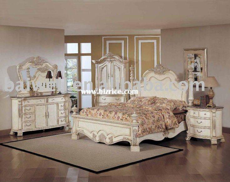 Bedroom Furniture Antique white vintage bedroom furniture - creditrestore