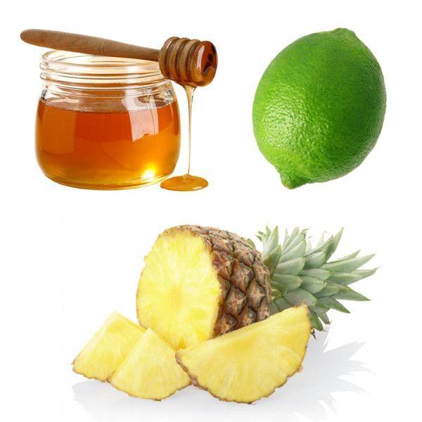 Ricetta per la preparazione di un Centrifugato Rinvigorente con Lime, Ananas e Miele di Acacia. Scopri anche tutti gli altri Centrifugati Energizzanti
