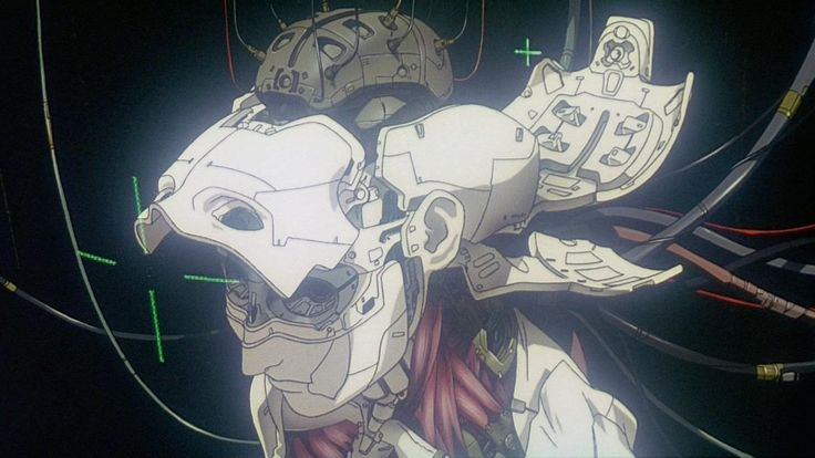 Classic Ghost In The Shell!!