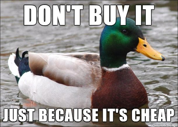 With black friday coming up I feel this needs to be said