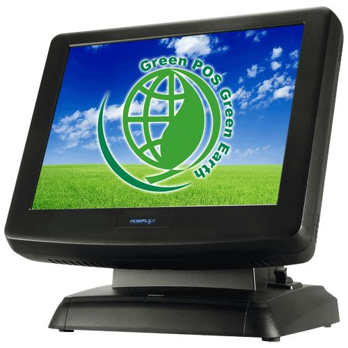 """PC POS Touch System   Resistive or IR touch screen   15"""" LCD 1024 x 768 resolution   Spill-resistant design (IP44 capable) to prevent careless spill and provide easy cleaning for a wide range of applications   Equipped with Intel Pine View Dual Core D525 1.8 GHz CPU and"""