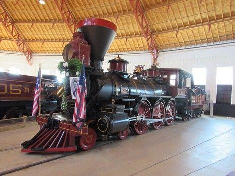 Lincoln funeral train, B&O Museum, Baltimore