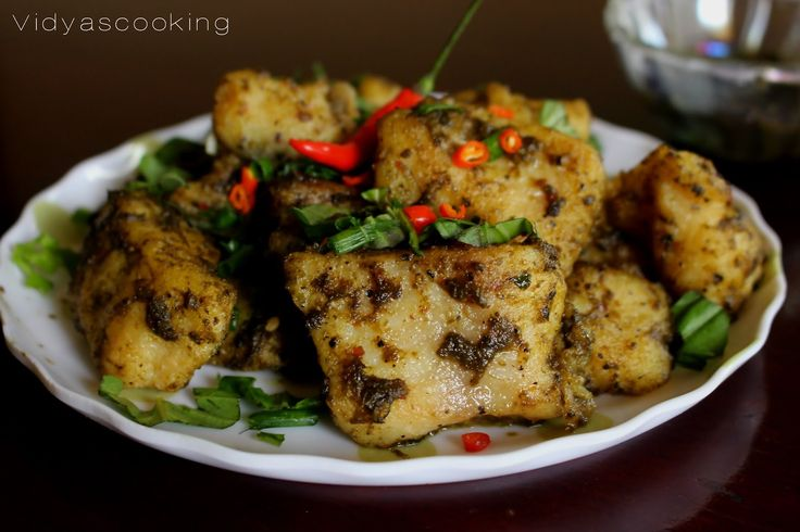 Crispy Basa Fish In Chilly Basil Sauce, Basa fish recipes, chilly basil fish, crispy fish recipe, pan asian cuisine, how to prepare chilly fish,