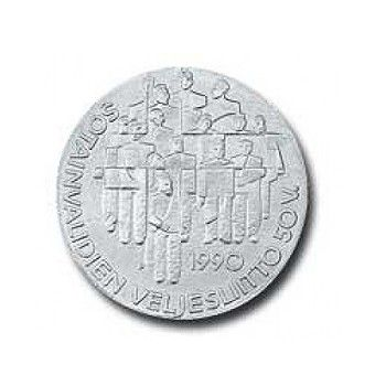 Suomi juhlaraha 100 markkaa, Sotainvalidien veljesliitto (1990)