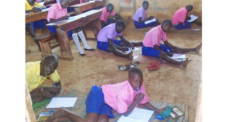 PLEASE follow like and share on FB https://www.facebook.com/groups/VolunTourismTips/   .... > Anyena Primary School Agago, Kids study on floor and Teachers can hardly live from salary!  #Uganda #Tax #Schools #Students
