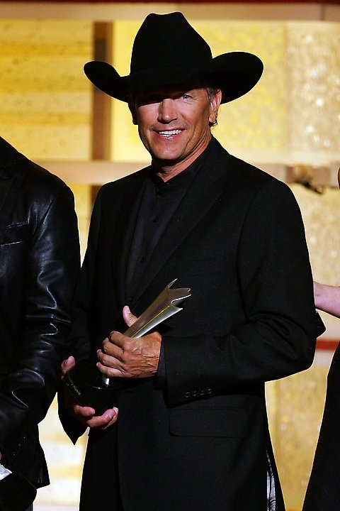 Good Lord, this man just gets better with age! George Strait Photos: 42nd Annual Academy Of Country Music Awards - Show