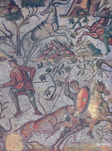 Villa Romana de La Olmeda Visita - Mosaico de La Olmeda