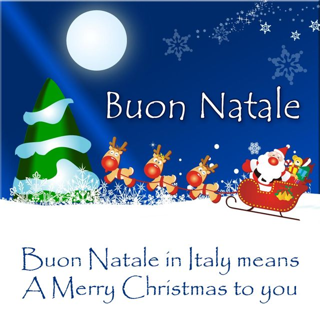 italian christmas christmas greetings and italian on merry
