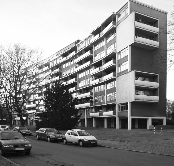 Hansaviertel, 1957. Walter Gropius Brutalist