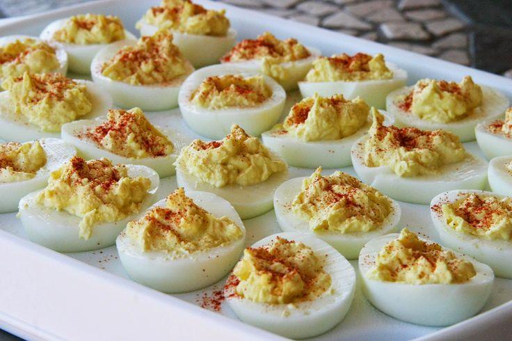Easy Deviled Eggs WW PointsPlus+ = 1 - weight watchers recipes