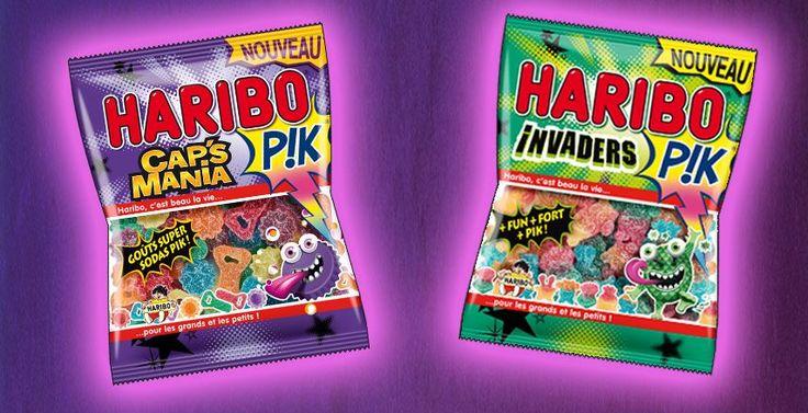 Mon avis sur Haribo PIK - Cap's Mania et Invaders.  http://place-to-be.net/index.php/gastronomie/4474-haribo-pik-cap-s-mania-et-invaders