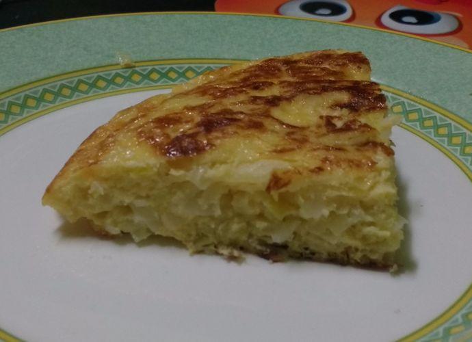 Tortilla de puerros leoneses para #Mycook http://www.mycook.es/cocina/receta/tortilla-de-puerros-leoneses