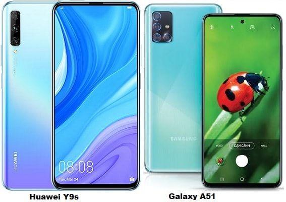 Compare Huawei Y9s Vs Samsung Galaxy A51 Samsung Galaxy Huawei Samsung