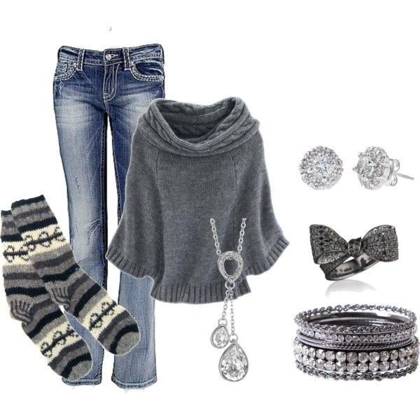 cozy winter outfit: Sweaters, Cozy Outfits, Cozy Winter Outfits, Mondays Mornings, Bows Rings, Fall Outfits, Socks, Winter Fashion, Closet