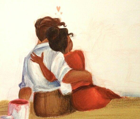 Tiana and Naveen http://durnesque.tumblr.com/