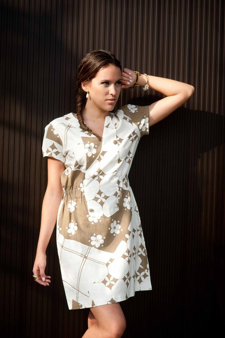 Vestido De Linho  R$ 145,00 Ou 3X: 14500 Ou