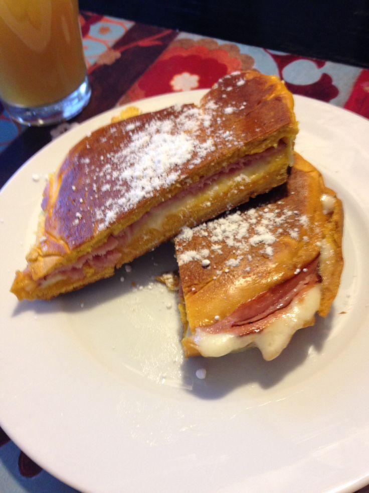 Majorca with Swiss Cheese and Virginia ham