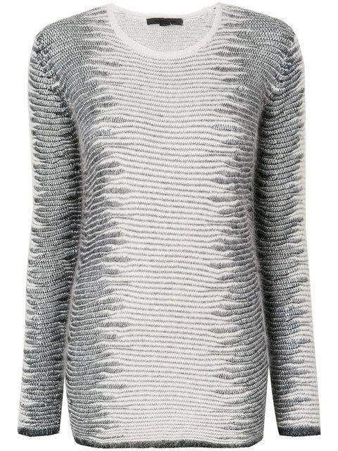 ALEXANDER WANG Frayed Tunic sweater. #alexanderwang #cloth #sweater