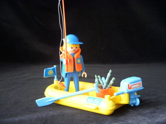 Vintage Playmobil Toy Collectible Toy Creative Play by GSaleHunter