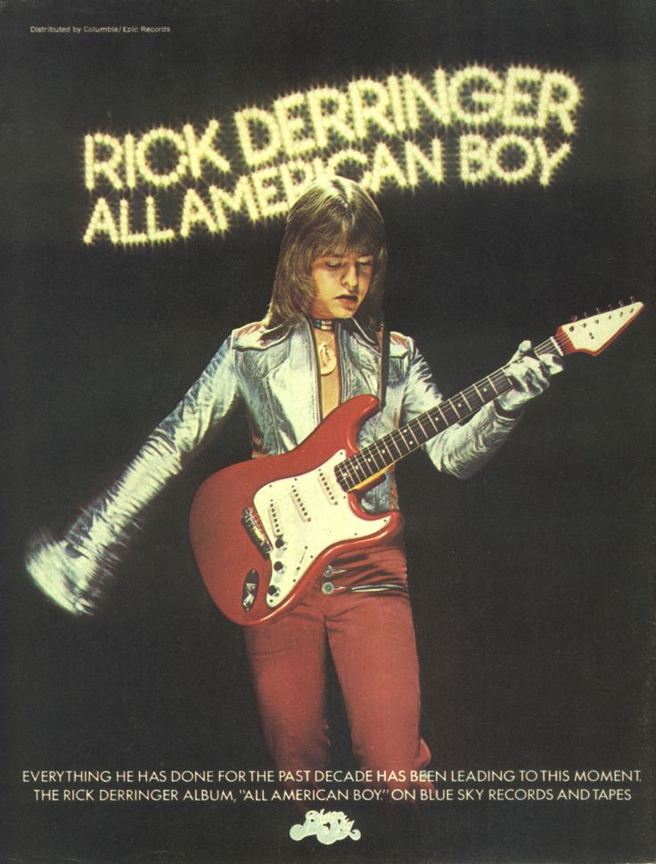 "Rick Derringer (born Richard Zehringer) is an American guitarist, vocalist, and entertainer. Derringer came to prominence in the 1960s as a member of 'The McCoys'. Derringer then turned to blues rock, scoring a 1974 hit with ""Rock and Roll, Hoochie Koo"" that was featured in the 1993 film 'Dazed and Confused', as well as in the Xbox 360 version of Guitar Hero II in 2007. He has also worked extensively with the group 'Steely Dan'."