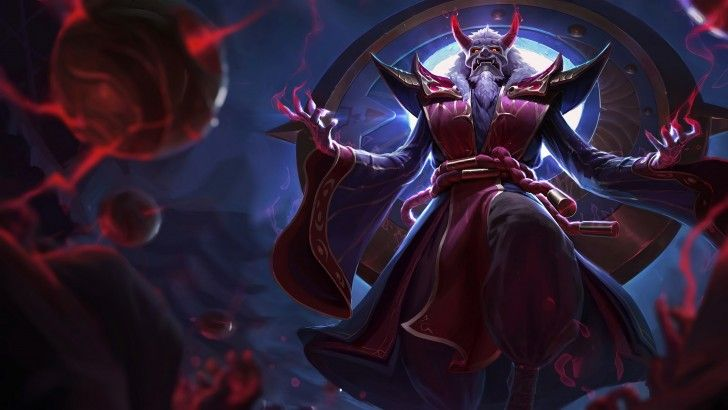 Download Blood Moon Zilean Splash Art Skin UHD 4K 3840x2160