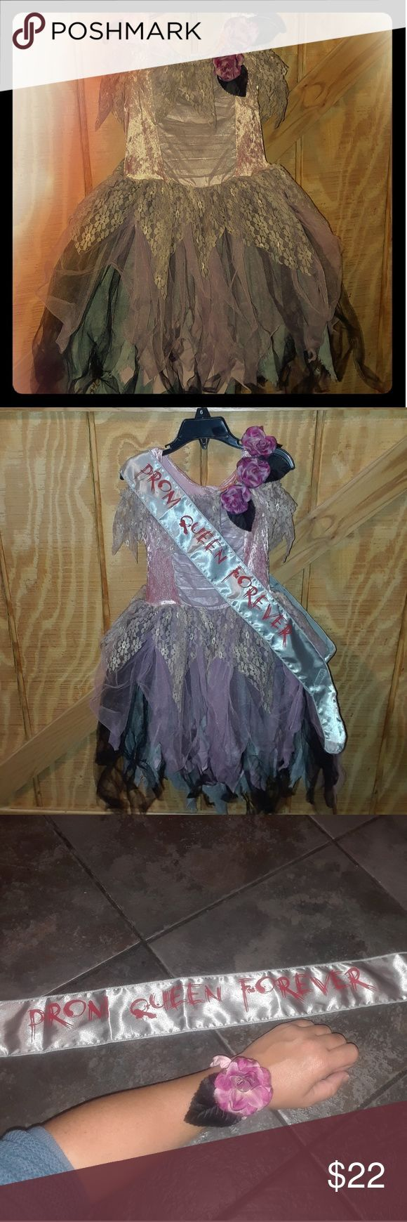 Verkaufe dieses Kleid Halloween Girls 6 Halloween Kostüm Dead Prom Queen in Pos…