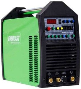 "The Everlast PowerTig 250EX AC DC TIG Stick Pulse Welder 220/240 Volt Inverter  with stable and smooth starts with exclusive ""Easy Start"" 5 amp start for AC and DC low amp operation (+/- 2 A). Portable and lightweight for use in almost any setting. Fully adjustable weld parameters for 2t/4t remote operation. High Pulse Frequency capability (.5-500Hz) reduces overall heat input for premium weld quality, without burn through or warping."