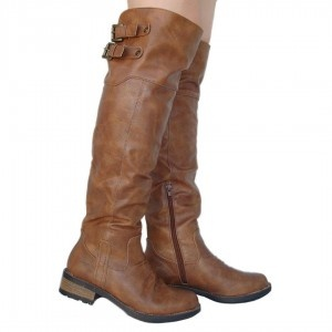 MatchPointWomen...Qupid Cognac Boots $34