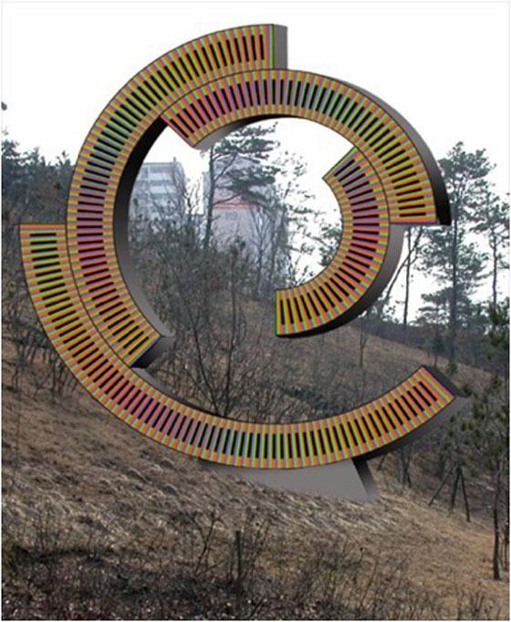 Spirale Virtuelle  Korean Folk Village, Suwon-si, South Korea