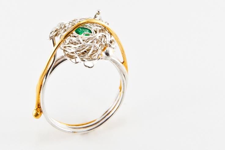 Caperonia Ring  Joyas Thea  Adriana Almeida Meza . 2012