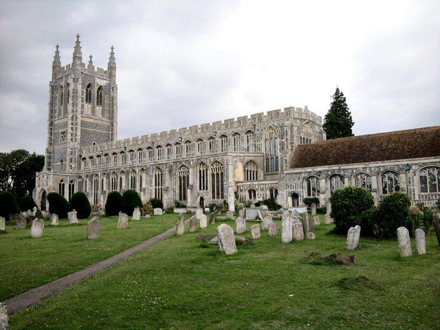 Holy Trinity Church, Long Melford, Suffolk - The Church where my Nana Alice is laid to Rest xx