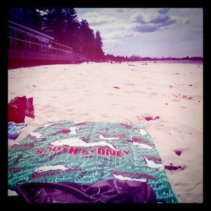 Great shot of the Rabbitohs towel courtesy of @ 3oofhead on Instagram.