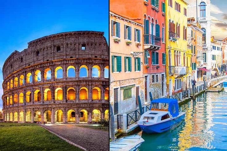 Discount UK Holidays 2017 4-6nt Rome and Venice Break with Flights & Train Transfers From £129pp (from Crystal Travel) for a four-night Rome and Venice break with flights and train transfers, from £189pp for a six-night stay - save up to 47%