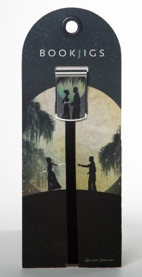 Bookjigs romance bookmark