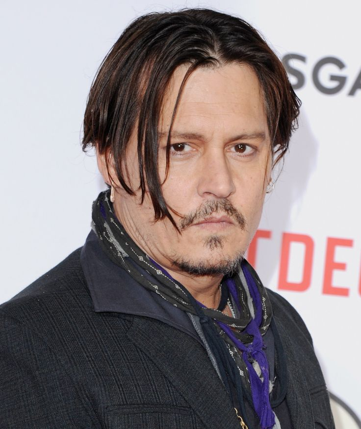 Johnny Depp serious (FilmMagic)