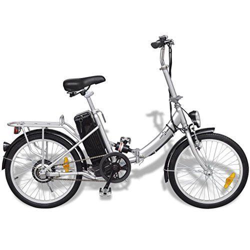 vidaXL Vélo électrique pliable en alliage d'aluminium et batterie lithium-ion: Ce vélo pliant électrique de haute qualité vous rendra la…